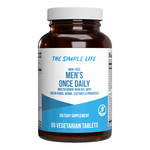The Simple Life Men's Once A Day Multi-Vitamin (3 Month Supply)