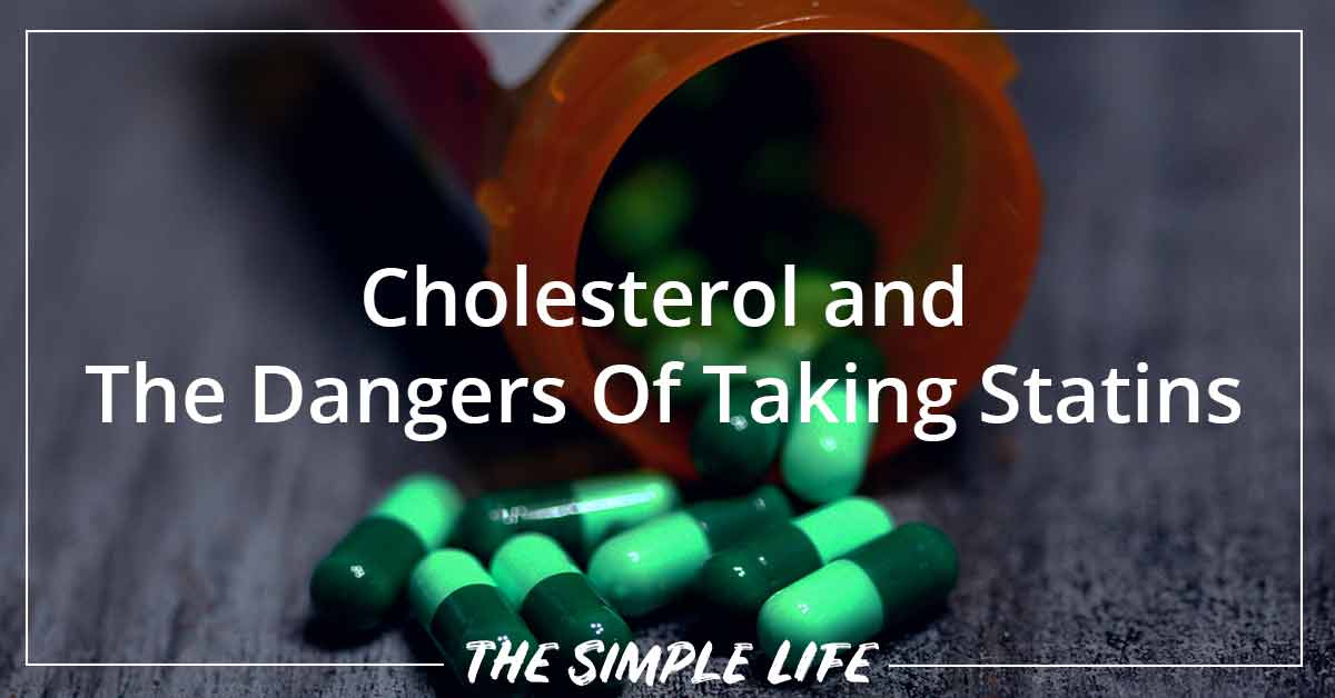 Do You Have High Cholesterol? The Dangers Of Taking Statins