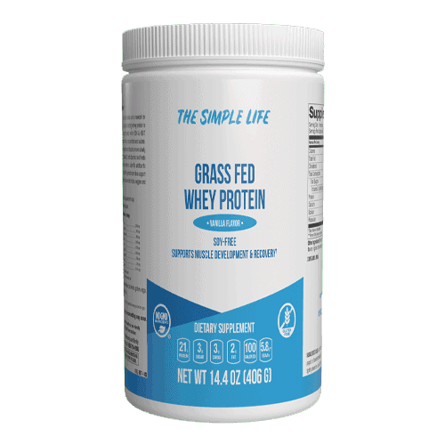 The Simple Life Grass Fed Whey (Vanilla)